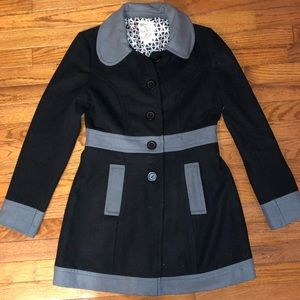 Dressy trench coat